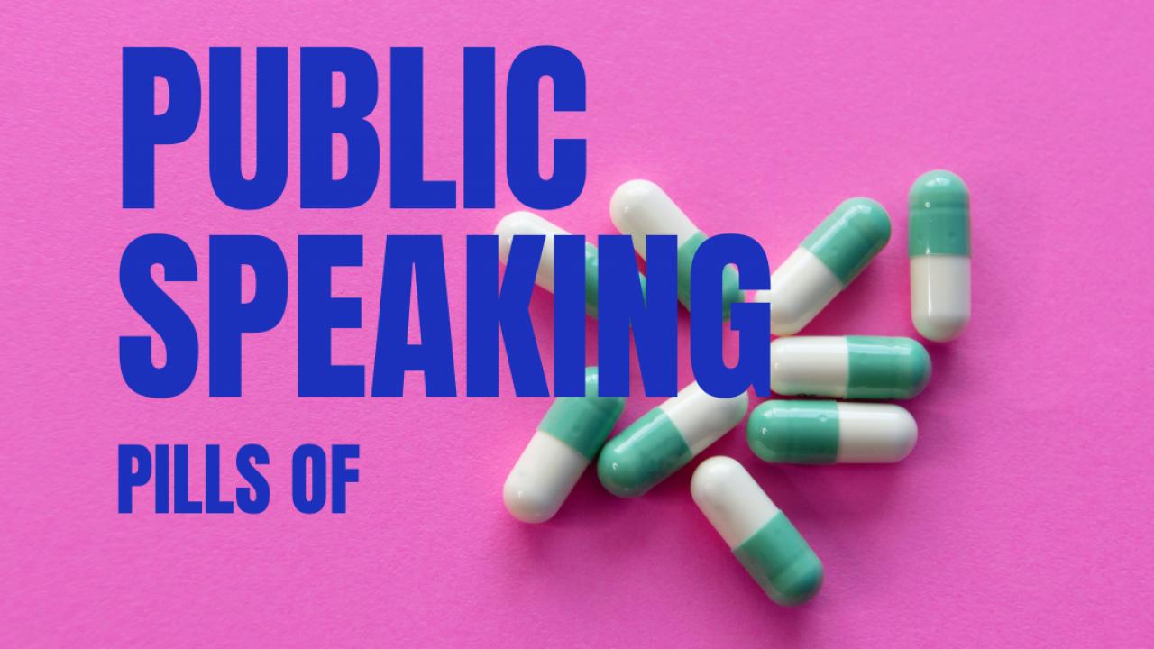 Immagine - Public Speaking